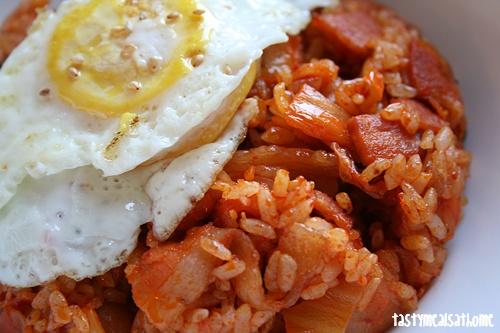 Hawaiian Spam Fried Rice